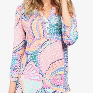 Lilly Pulitzer Egret Top